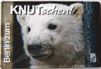 Knut-schen Blechschild - Vorschau