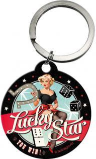 Schlüsselanhänger - Lucky Star