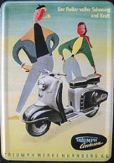 Blechpostkarte Triumph Contessa - Vorschau