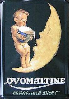 Blechpostkarte Ovomaltine - Vorschau