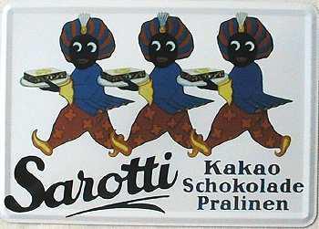 Blechpostkarte Sarotti - Vorschau