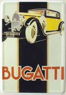 Blechpostkarte Bugatti 157 RD8