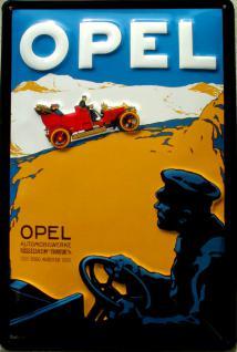 Opel Automobilwerke Blechschild - Vorschau