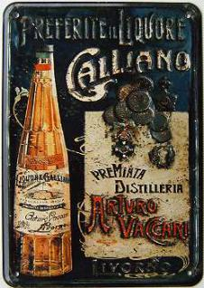 Blechpostkarte Galliano - Vorschau