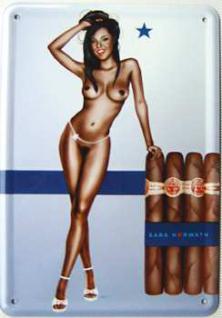 Blechpostkarte Sara Horwath Stern-Cigar - Vorschau