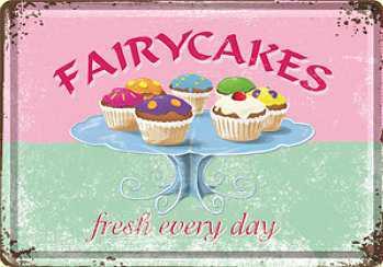 Blechpostkarte Fairy Cakes - Vorschau