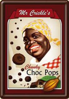 Blechpostkarte Mr. Crickles Choc Pops - Vorschau
