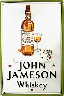 John Jameson Whiskey Blechschild