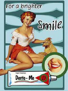 Magnet Dento Me Pin Up Girl - Vorschau