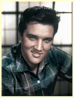 Magnet Elvis in Color