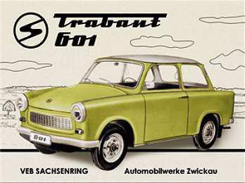 Magnet Trabant 601