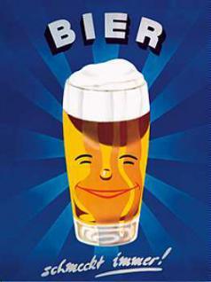Magnet Bier schmeckt immer