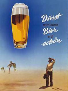 """Magnet Bier / Durst wird durch Bier erst schön"""""""