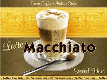 Magnet Latte Macciato