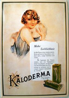 Kaloderma - mehr Lieblichkeit Blechschild