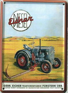 Eicher Diesel Mini Blechschild
