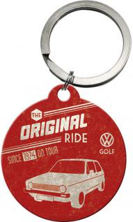 Schlüsselanhänger - VW Golf The Original Ride