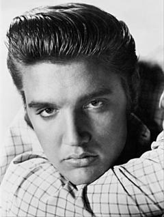Magnet Elvis Portrait - Vorschau