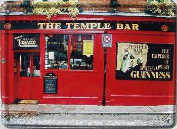 The Temple Bar Mini Blechschild