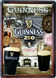 Guinness - 250 Years Mini Blechschild