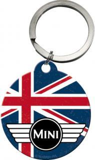 Schlüsselanhänger - Mini Cooper Union Jack