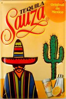 Tequila Sauza Blechschild - Vorschau