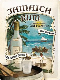 Jamaica Rum Blechschild - Vorschau