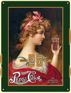 Kalender Pepsi Cola