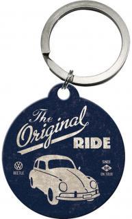 Schlüsselanhänger - VW Beetle The Original Ride