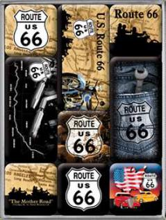 Magnet-Set Route 66