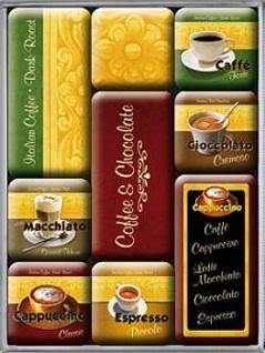 Magnet-Set Coffee & Chocolate - Vorschau