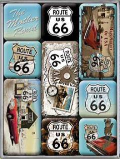 Magnet-Set Route 66 No.2