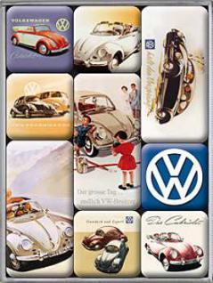 Magnet-Set VW - Vorschau