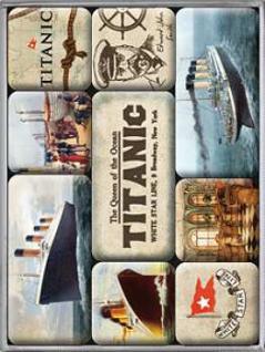 Magnet-Set Titanic - Vorschau