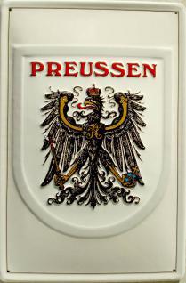 Preussen Blechschild