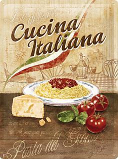Cucina Italiana Blechschild - Vorschau