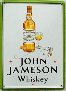 John Jameson Whisky Mini Blechschild