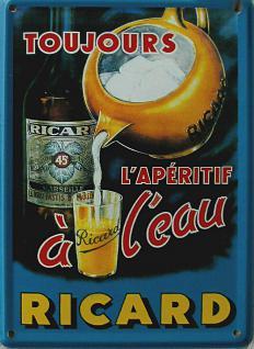 Ricard Mini Blechschild