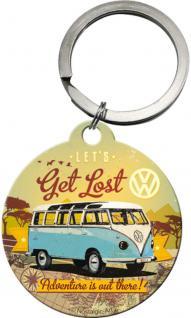 Schlüsselanhänger - VW Bulli Lets get lost - Vorschau