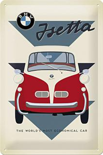 BMW - Isetta Economical Car Blechschild