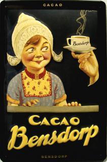 Bensdorp Cacao Blechschild