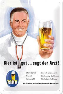 Bier ist gut... Blechschild