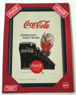 Coca Cola Spiegel Sprite Boy