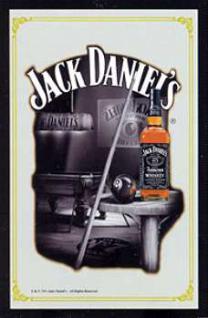 Jack Daniels Spiegel - Billard