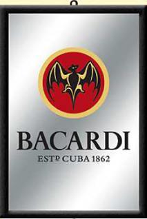 Bacardi Logo Spiegel