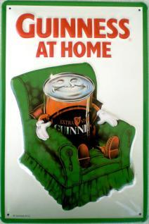 Guinness At Home Blechschild