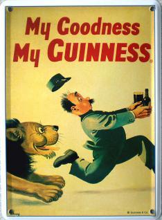 Guinness Löwe Mini Blechschild