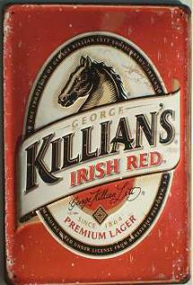 Killians Irish Red Blechschild