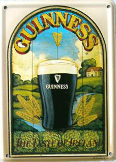 Guinness The Taste of Ireland Mini Blechschild
