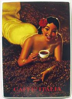 Caffe Italia Blechschild - Vorschau